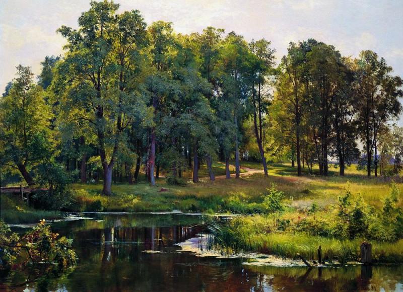 In the Park 1897 82. 5h111. Ivan Ivanovich Shishkin