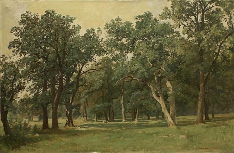 1889 Forest Glade. Ivan Ivanovich Shishkin