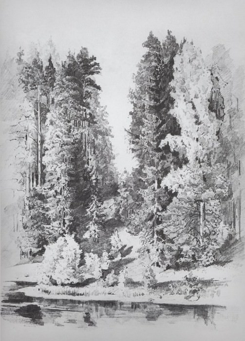 In the Park 1880 33. 1h24. 6. Ivan Ivanovich Shishkin