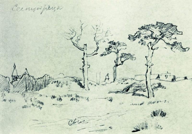In Sestrorezk 1890 13, 8h19. 7. Ivan Ivanovich Shishkin