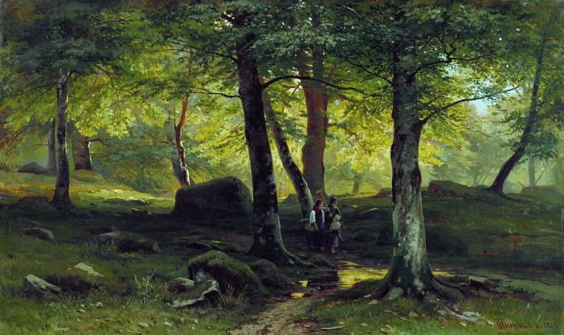 In the Grove 1865 38h62, 5. Ivan Ivanovich Shishkin