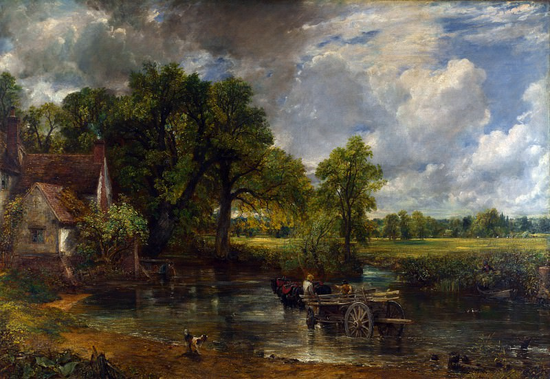 John Constable - The Hay Wain. Part 4 National Gallery UK