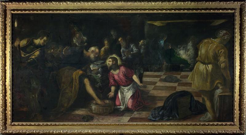 Якопо Тинторетто - Омовение ног ученикам. Часть 4 Национальная галерея