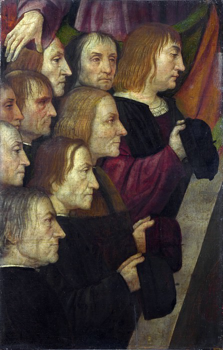 Italian, Milanese - Male Members of a Confraternity. Part 4 National Gallery UK