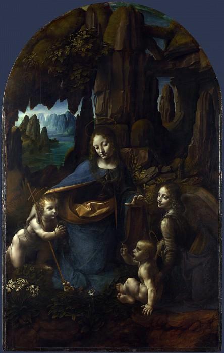Леонардо да Винчи - Мадонна в скалах. Часть 4 Национальная галерея