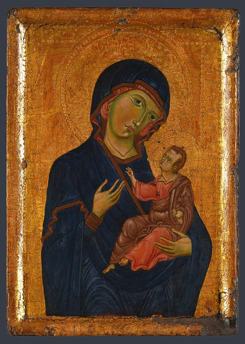 Italian, Umbrian - The Virgin and Child. Part 4 National Gallery UK