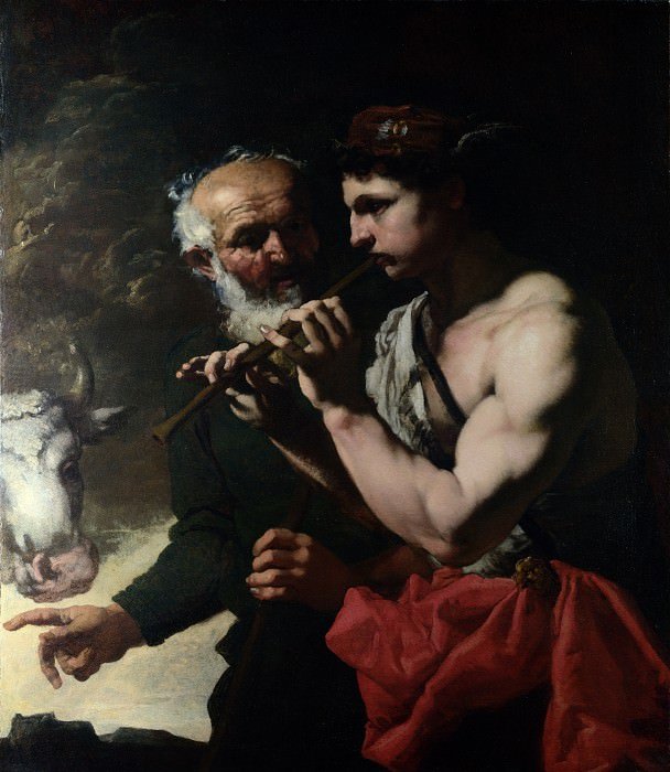 Johann Carl Loth - Mercury piping to Argus. Part 4 National Gallery UK