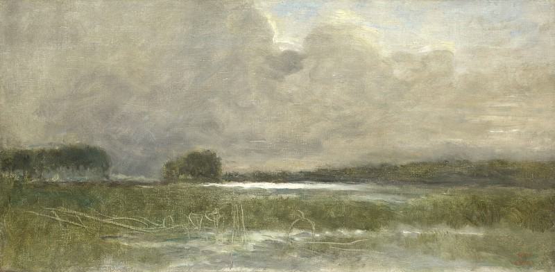 Jean-Baptiste Camille Corot - The Marsh at Arleux. Part 4 National Gallery UK