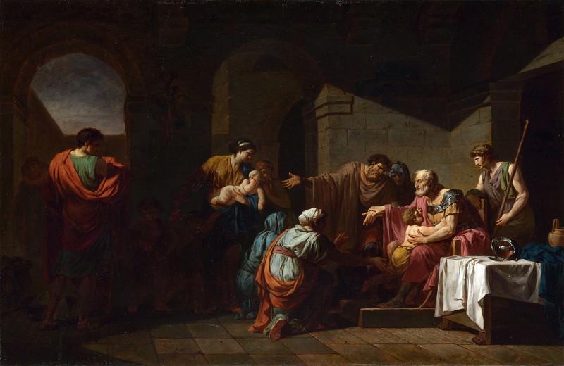 Жан-Франсуа-Пьер Пейрон - Гостеприимство крестьянина к Велизарию. Часть 4 Национальная галерея