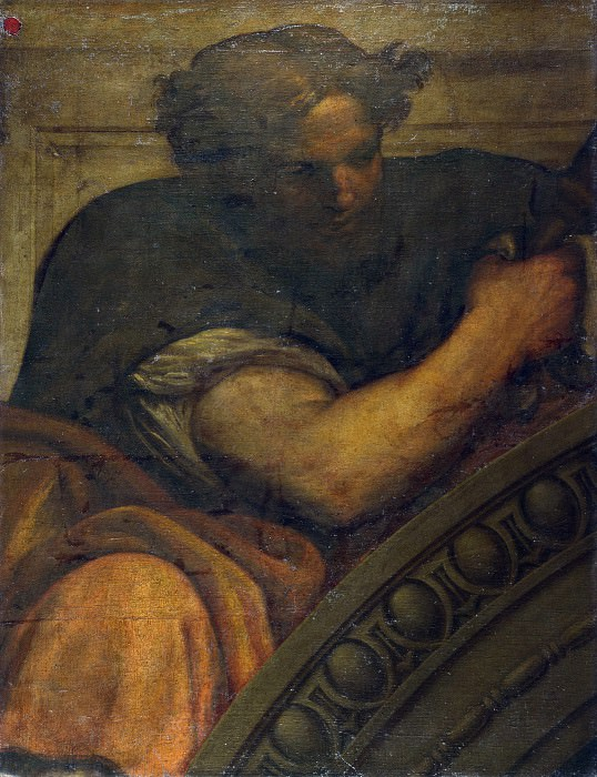 Italian, Venetian - An Apostle, Saint, Prophet or Sage. Part 4 National Gallery UK