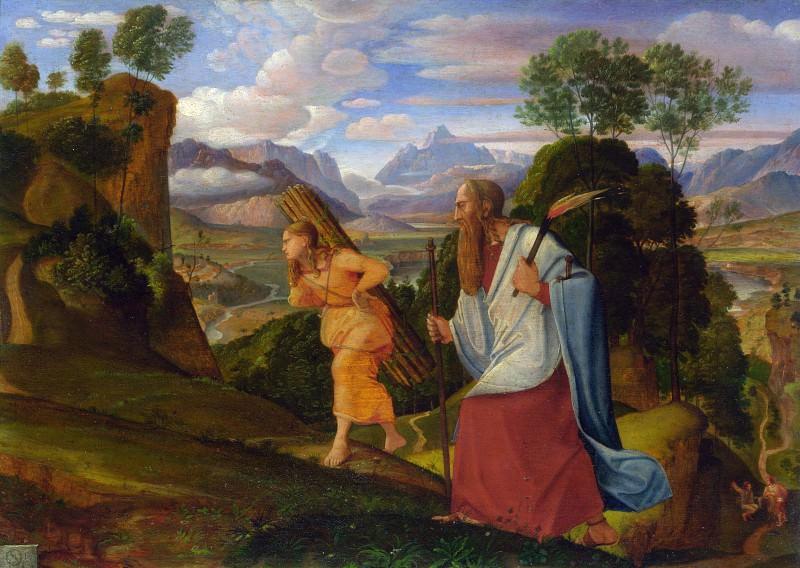 Johann Heinrich Ferdinand Olivier - Abraham and Isaac. Part 4 National Gallery UK