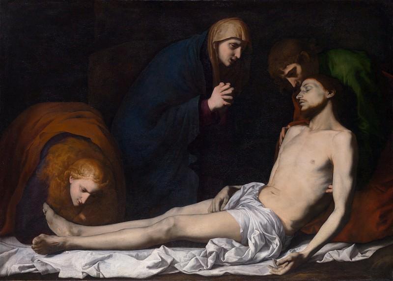Jusepe de Ribera - The Lamentation over the Dead Christ. Part 4 National Gallery UK