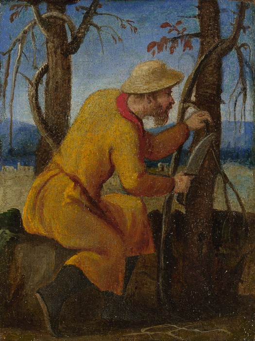 Italian, Venetian - The Labours of the Months - March. Part 4 National Gallery UK