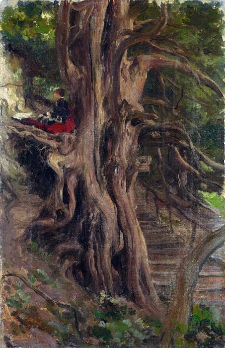 Фредерик, лорд Лейтон - Деревья в Кливдене. Часть 4 Национальная галерея