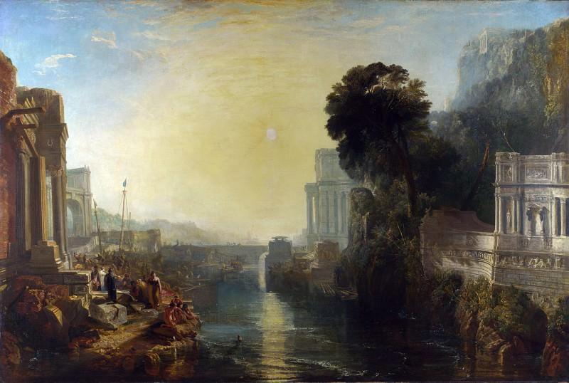 Joseph Mallord William Turner - Dido building Carthage. Part 4 National Gallery UK