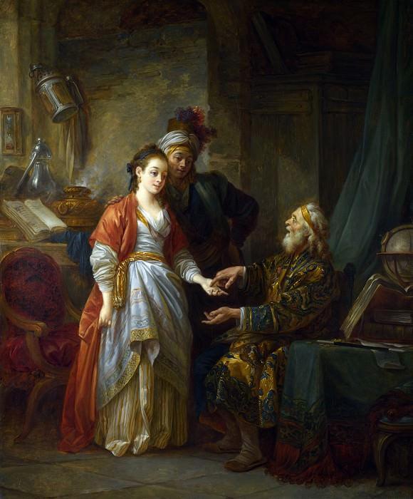 Jean-Baptiste Le Prince - The Necromancer. Part 4 National Gallery UK