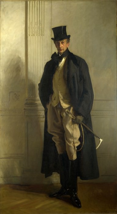 John Singer Sargent - Lord Ribblesdale. Part 4 National Gallery UK