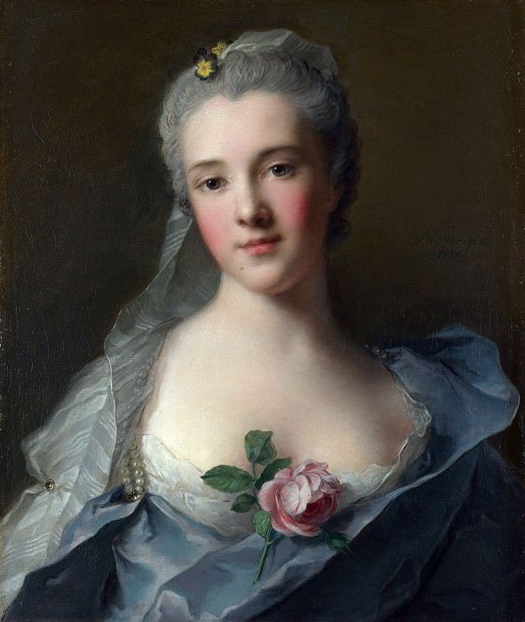 Jean-Marc Nattier - Manon Balletti. Part 4 National Gallery UK