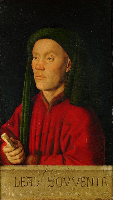 Ян ван Эйк - Мужской портрет. Часть 4 Национальная галерея