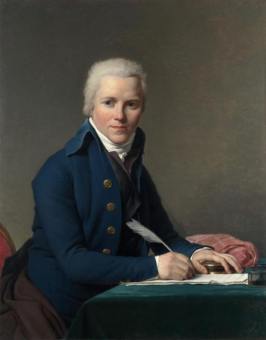 Jacques-Louis David - Portrait of Jacobus Blauw. Part 4 National Gallery UK