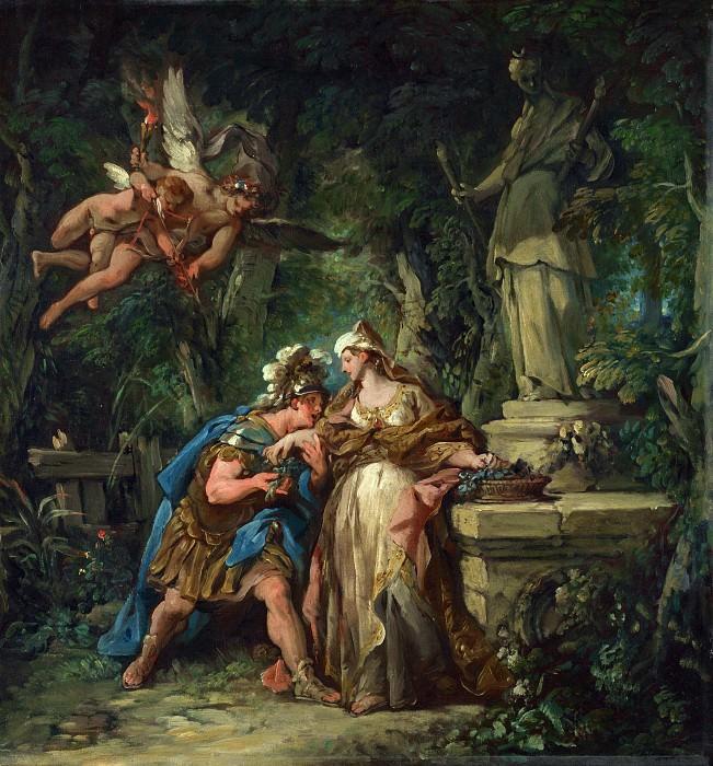 Jean-Francois Detroy - Jason swearing Eternal Affection to Medea. Part 4 National Gallery UK