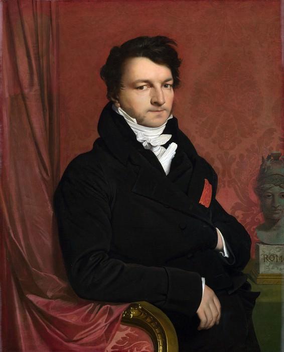 Monsieur de Norvins. Jean Auguste Dominique Ingres