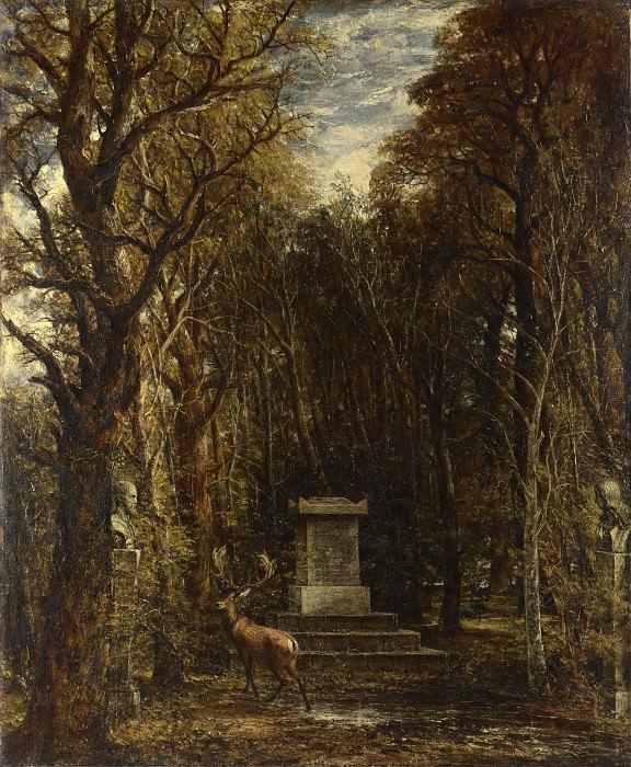 Джон Констебл - Кенотаф в память сэра Джошуа Рейнольдса. Часть 4 Национальная галерея