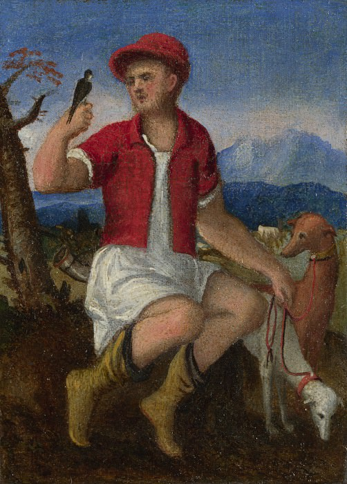 Italian, Venetian - The Labours of the Months - November. Part 4 National Gallery UK