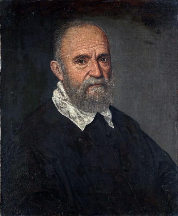 Леандро Бассано - Портрет бородатого мужчины. Часть 4 Национальная галерея