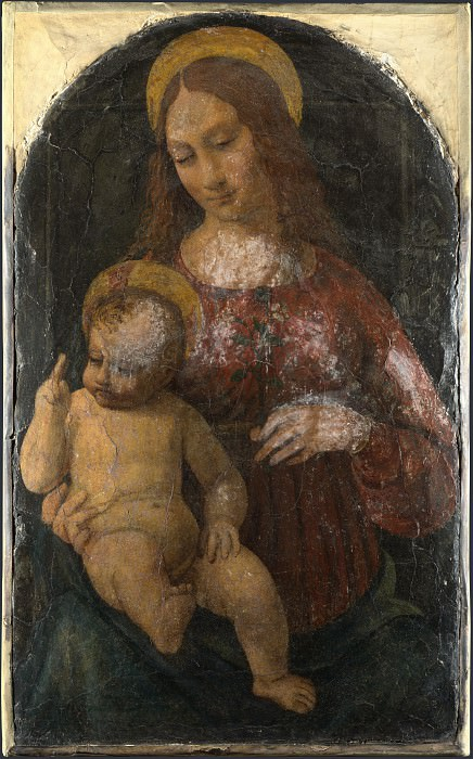 Italian, Milanese - The Virgin and Child. Part 4 National Gallery UK