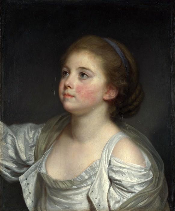 Jean-Baptiste Greuze - A Girl. Part 4 National Gallery UK