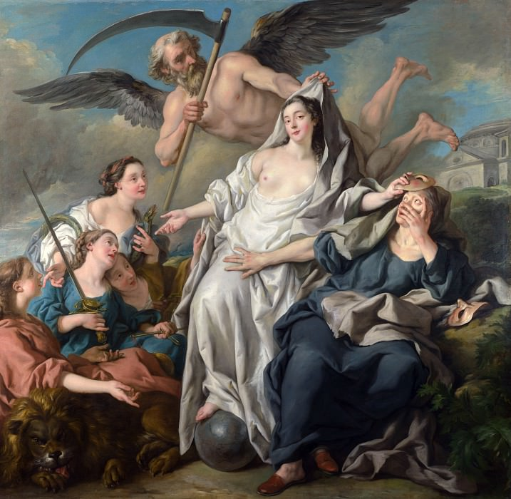 Jean-Francois Detroy - Time unveiling Truth. Part 4 National Gallery UK