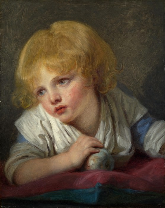 Jean-Baptiste Greuze - A Child with an Apple. Part 4 National Gallery UK