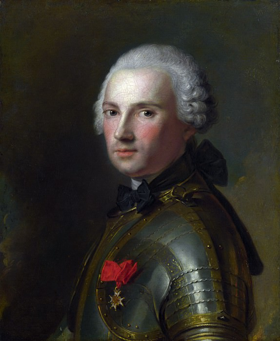 Jean-Marc Nattier - Portrait of a Man in Armour. Part 4 National Gallery UK