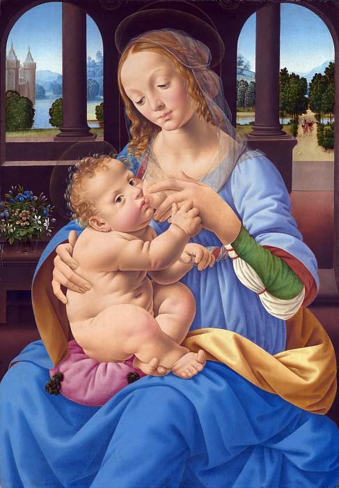 Лоренцо ди Креди - Мадонна с Младенцем. Часть 4 Национальная галерея