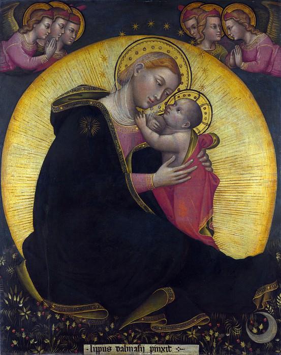 Липпо ди Далмасио - Мадонна Смирения. Часть 4 Национальная галерея