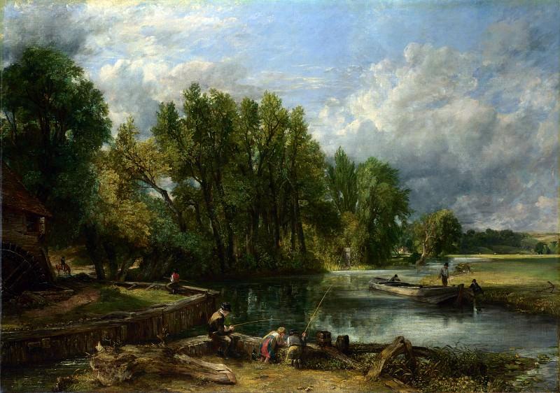 John Constable - Stratford Mill. Part 4 National Gallery UK