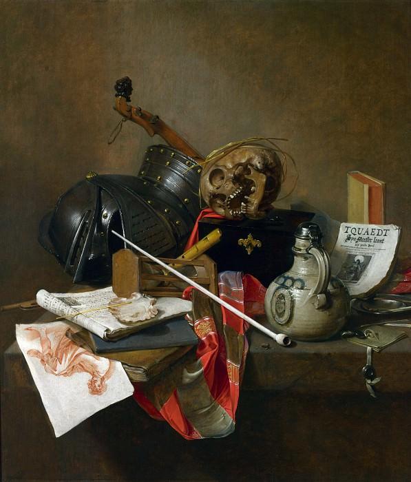 Jan Jansz. Treck - Vanitas Still Life. Part 4 National Gallery UK