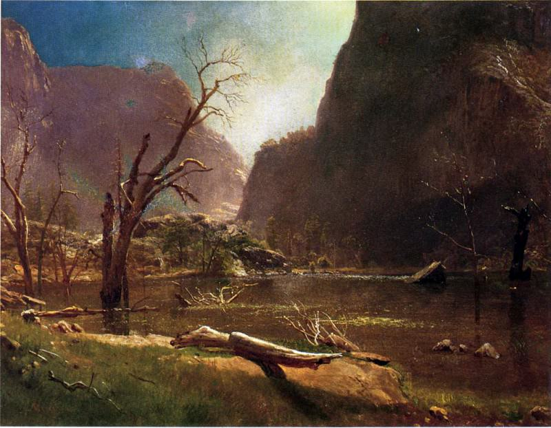 Bierstadt Albert Hatch Valley California. Albert Bierstadt