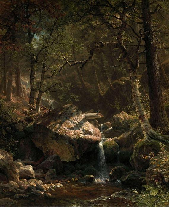 The Mountain Brook. Albert Bierstadt