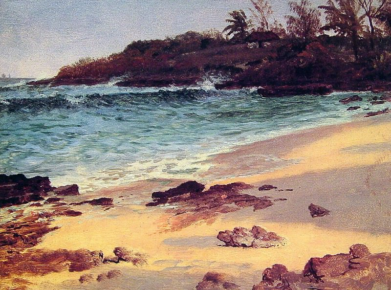 Bahama Cove. Albert Bierstadt