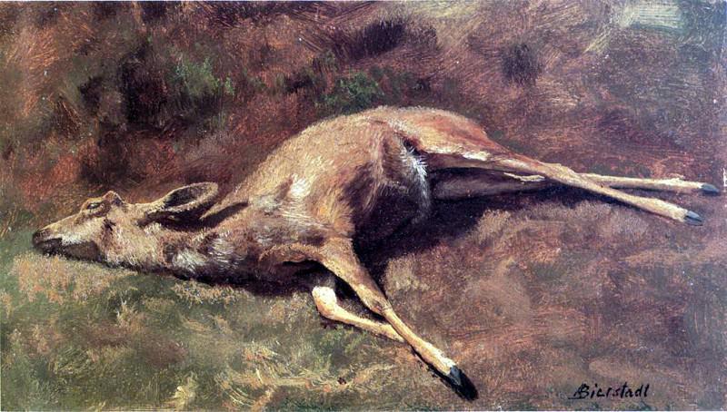 Bierstadt Albert Native of the Woods. Albert Bierstadt