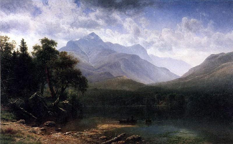 Bierstadt Albert Mount Washington. Albert Bierstadt