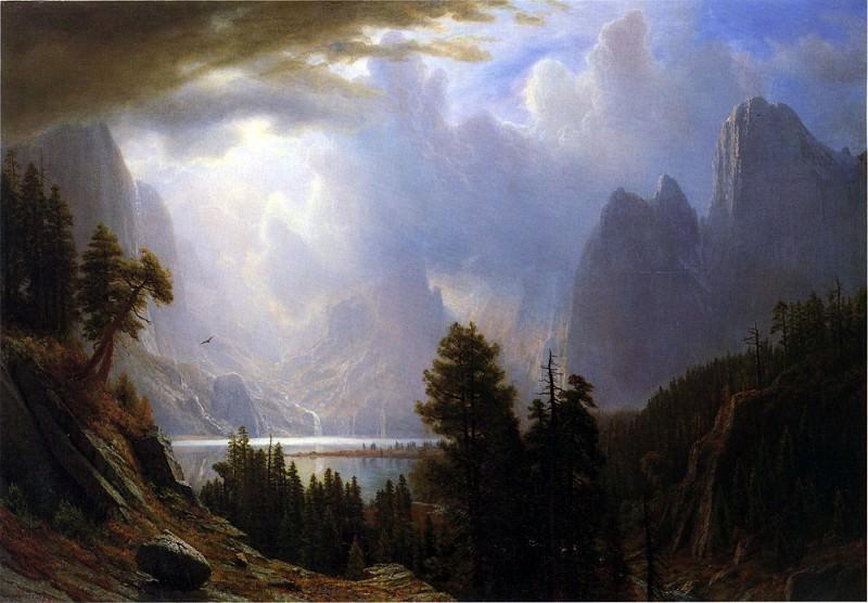 Пейзаж. Альберт Бирштадт