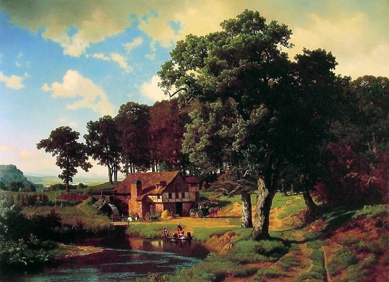 Сельская фабрика. Альберт Бирштадт