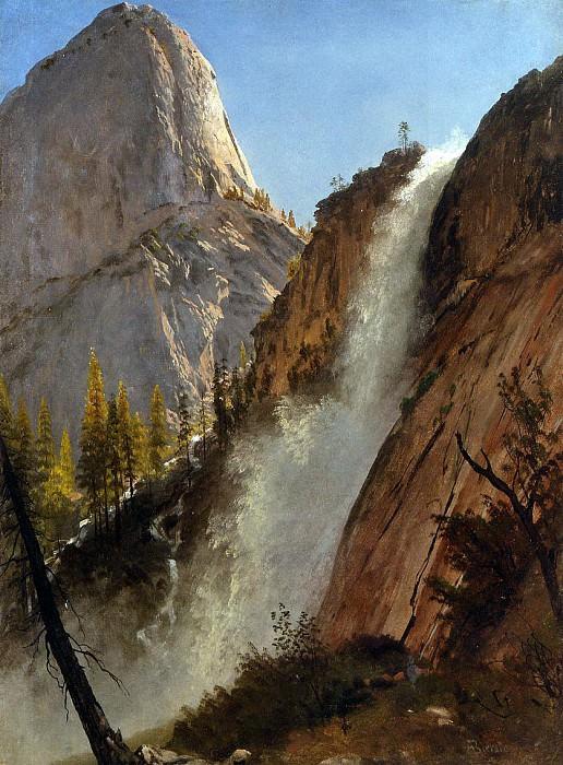 Bierstadt Albert Liberty Cam Yosemite. Albert Bierstadt