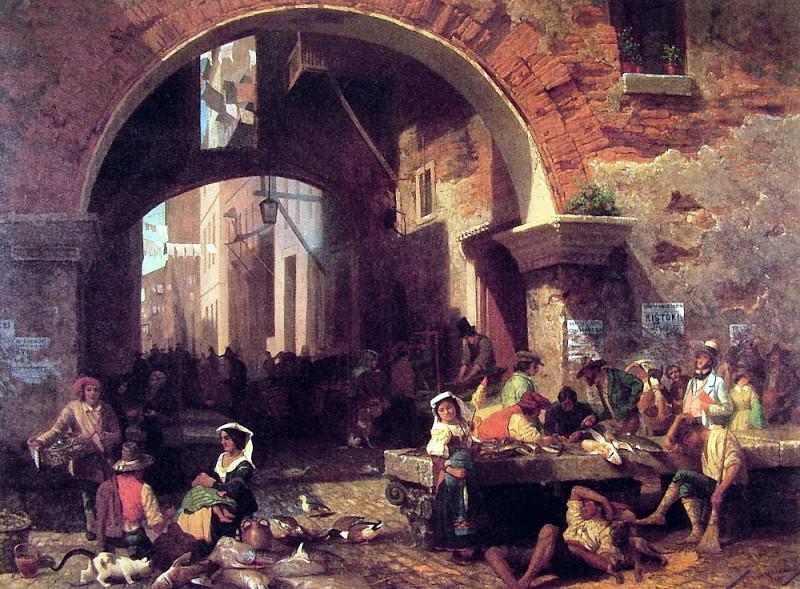 The Arch of Octavius. Albert Bierstadt