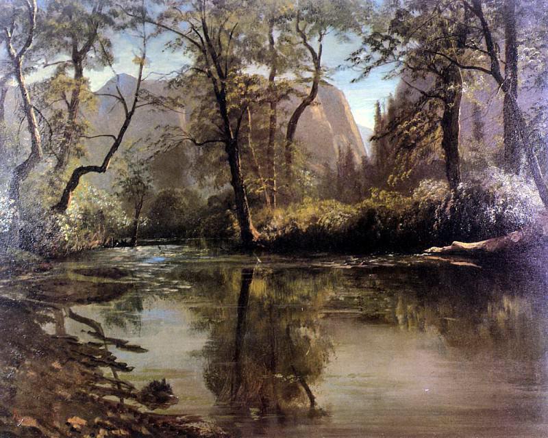 Bierstadt Albert Yosemite Valley California. Albert Bierstadt
