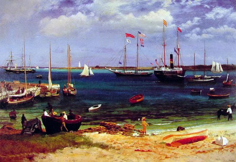 Nassau Harbor After 1877. Albert Bierstadt