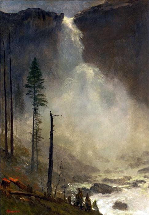 Водопад Невада-Фолс. Альберт Бирштадт